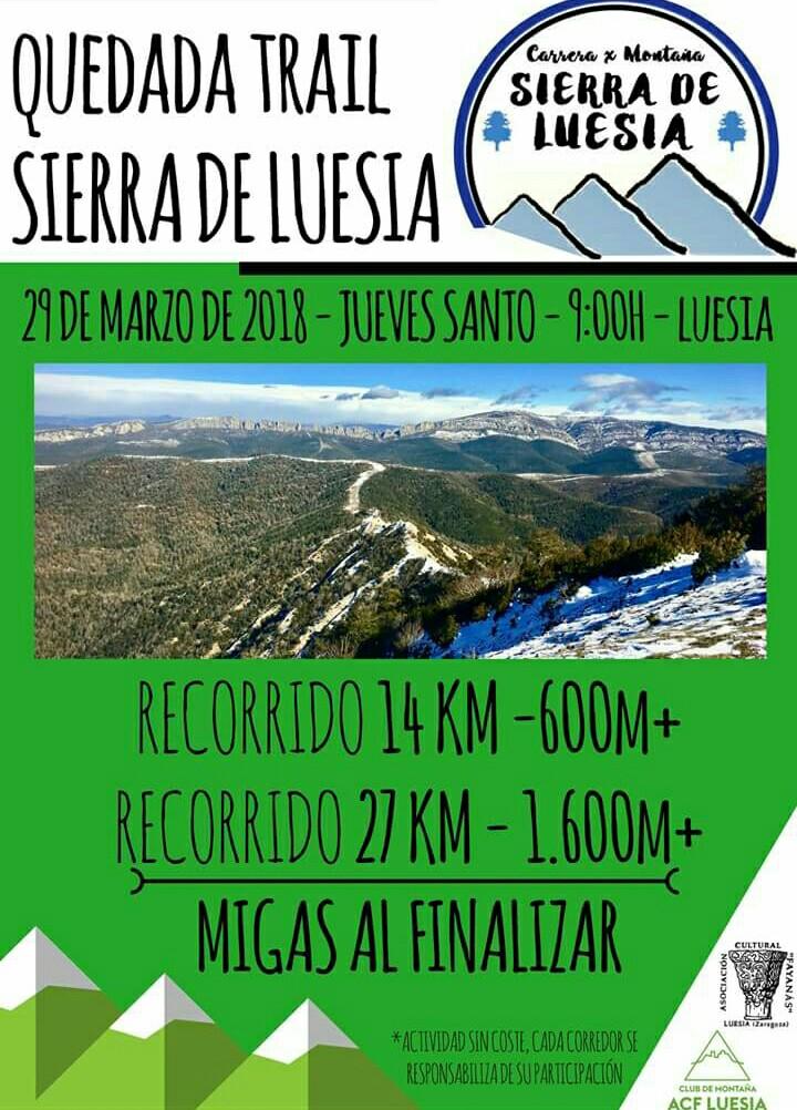 QDD Trail Sierra Luesia